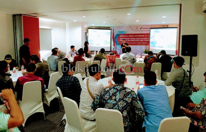 40 Jurnalis Ikuti Edukasi dan Media Gathering