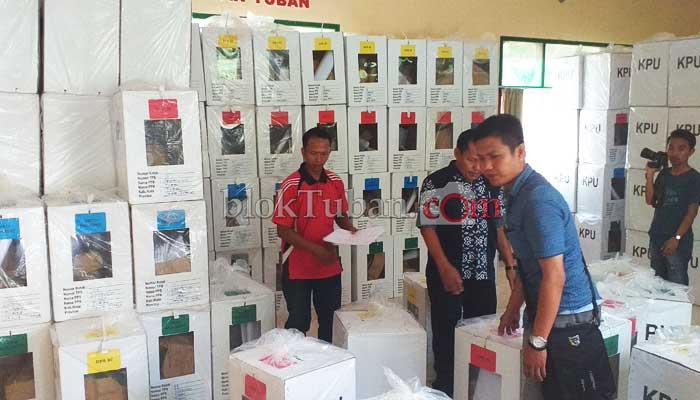 Kotak Suara Dikumpulkan ke Kecamatan