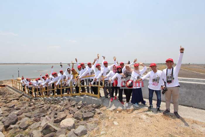 Kunjungan Relawan Jalur Pipa ke Lapangan Banyu Urip
