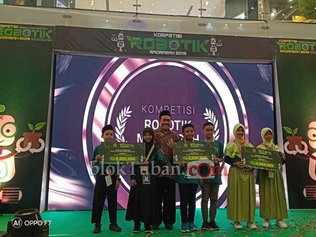 Tuban Juara Kompetisi Robotik Madrasah 2019 se-Indonesia