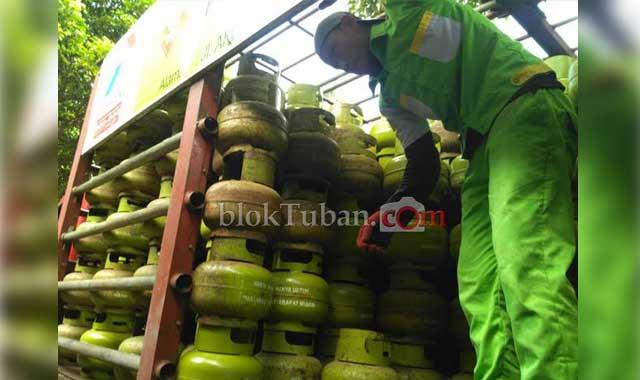 Apabila LPG 3 Kg Rp35.000, Pemilik Warung di Tuban Keberatan