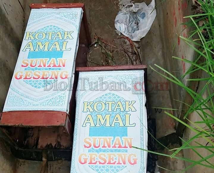 Dua Kotak Amal Wali di Tuban yang Hilang Ditemukan di Lamongan