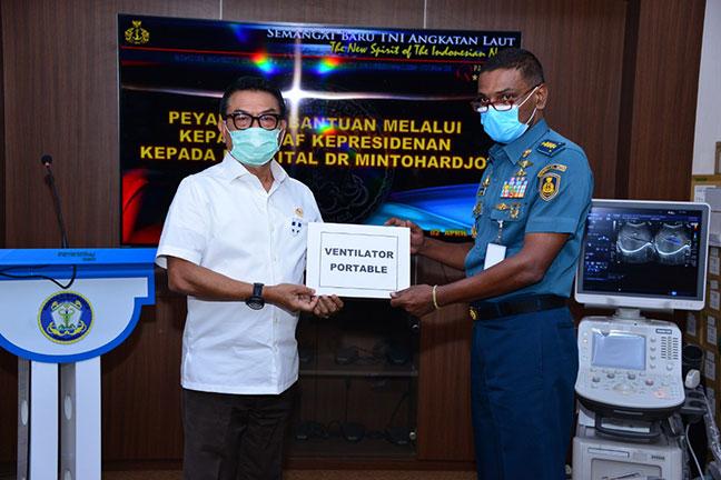 KSP Salurkan Bantuan Alkes ke 13 RS Rujukan