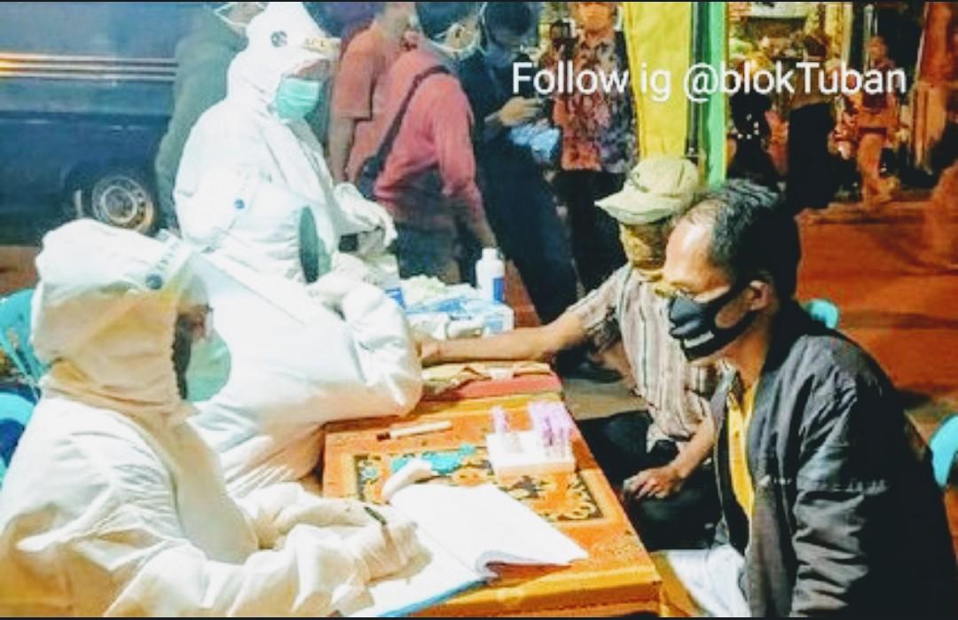 Klaster Pasar Rawan Corona, Semua Pedagang di Rapid Tes Ulang