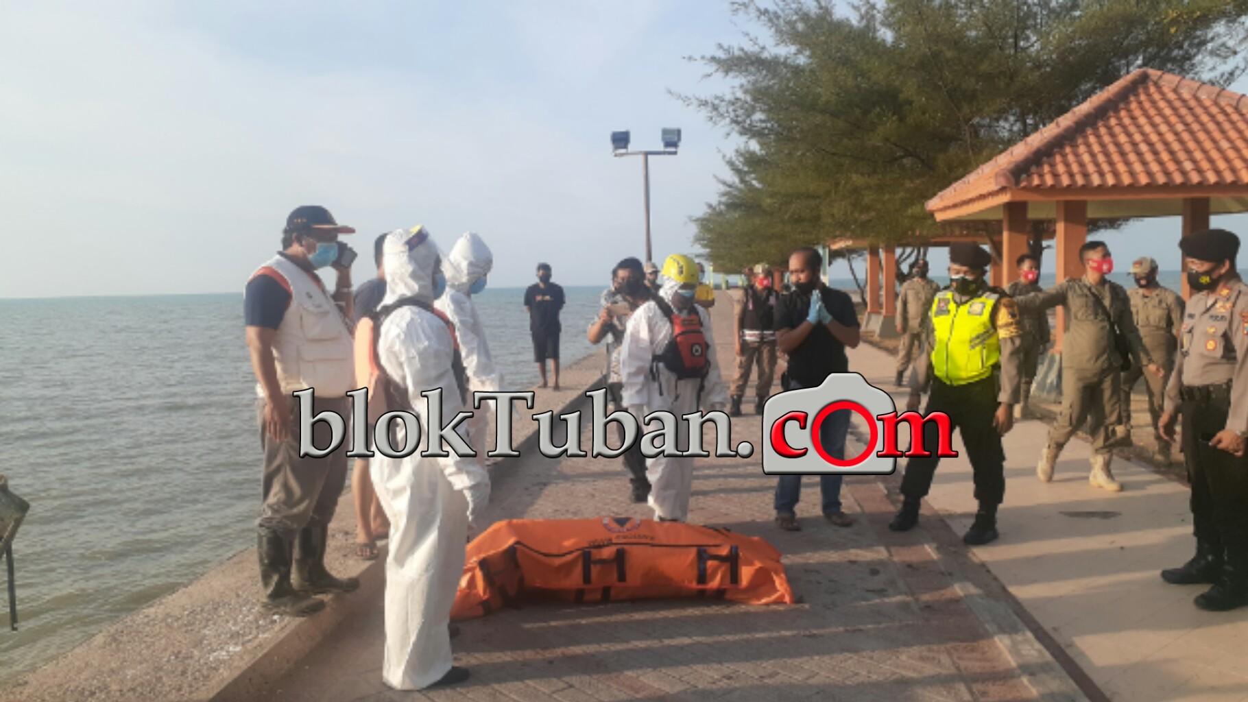 Jasad Pencari Udang Rebon Ditemukan Mengambang di Pantai Boom Tuban