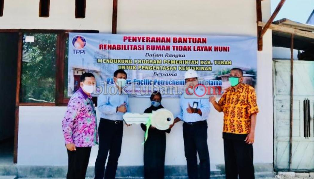 Pt Tppi Renovasi 9 Rumah Tidak Layak Huni Di Tuban