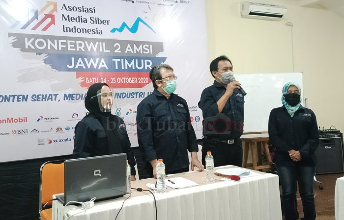 Arief-Nining Dipercaya Pimpin AMSI Jawa Timur