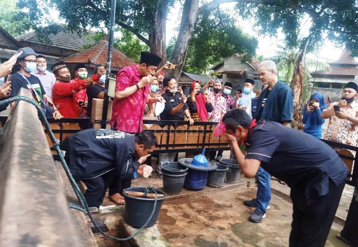 Begini Harapan Kades, Setelah Ganjar Pranowo Datangi Makam Sunan Bejagung