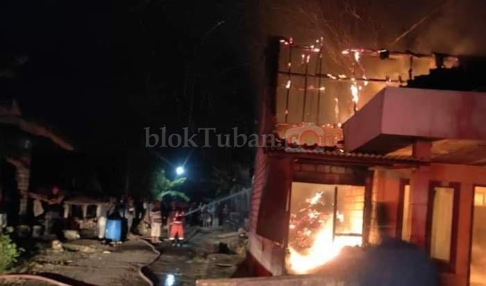 Rumah Abang Becak di Tegalrejo Terbakar, Dua Mobil Pemadam Diterjunkan
