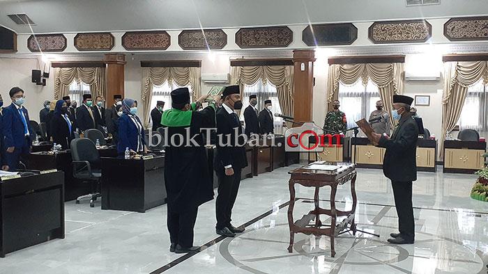 Pengganti Ilmi Zada di Wakil Ketua DPRD Resmi Dilantik