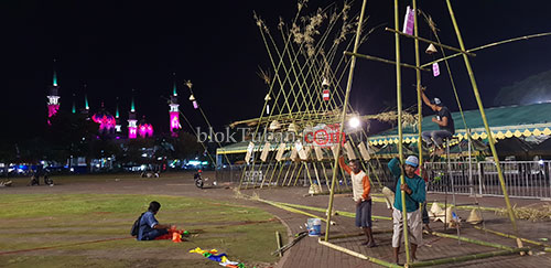 Besok Malam, Ada Pesta Rakyat di Alun-Alun Tuban